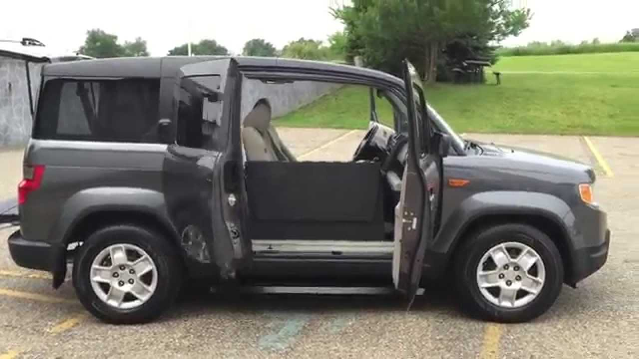 2011 Honda Element Automatic Passenger Side Wheelchair
