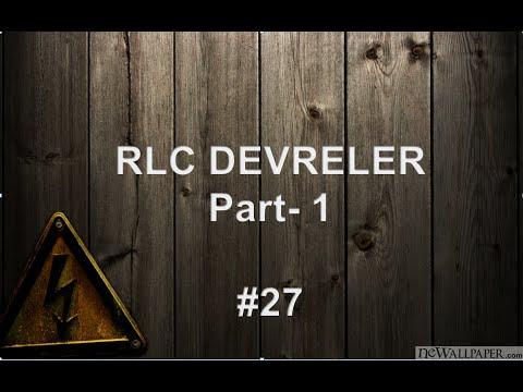 RLC Devreler part1 (başlangıç ve son değer bulma) - #27