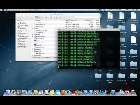 Come installare le librerie wxwidgets su OSX 10.8.3 Mountain Lion