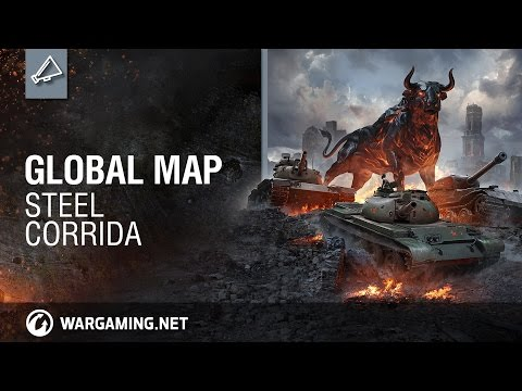 World of Tanks - Global Map: Steel Corrida