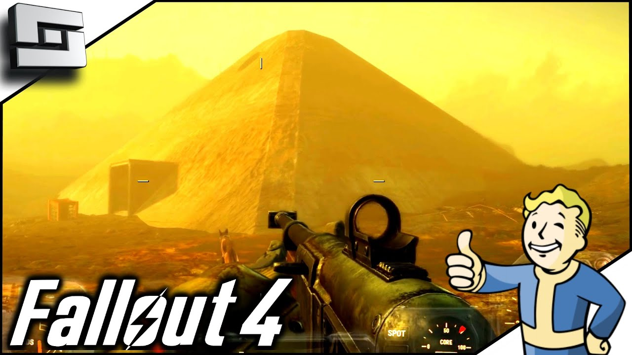 Fallout 4 Gameplay - NUCLEAR PYRAMID! Ep 44