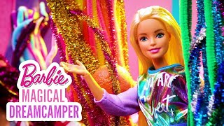 RAINBOW SNOWCONES, PUPPY HICCUPS & COLOR REVEAL MERMAIDS!  | Barbie Magical DreamCamper | @Barbie