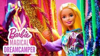 RAINBOW SNOWCONES, PUPPY HICCUPS & COLOR REVEAL MERMAIDS!  | Barbie Magical DreamCamper | @Barbie