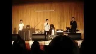 pre debut exo k s d o sings at school event with btob s hyunsik