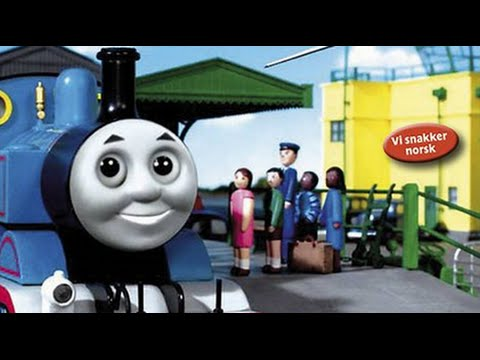 """""""Thomas and the Jet Plane"""" Norwegian DVD in English"""