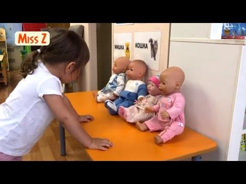 С какой беби Борн выбрать поиграть  Катаем куколок в коляске