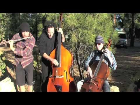 """Backcountry Gypsy Django Jazz"" PROJECT Trio: Greg Pattillo, Eric Stephenson, Peter Seymour"