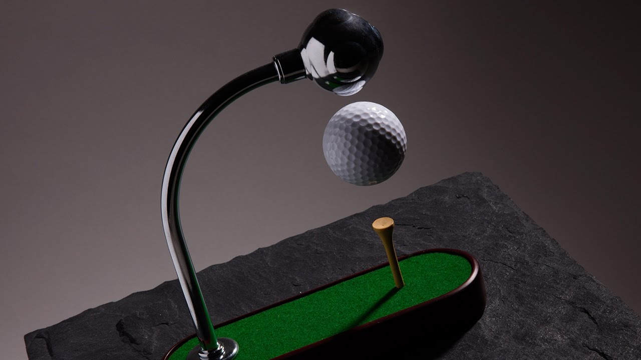 Antigravi-TEE Levitating Golf Ball video thumbnail