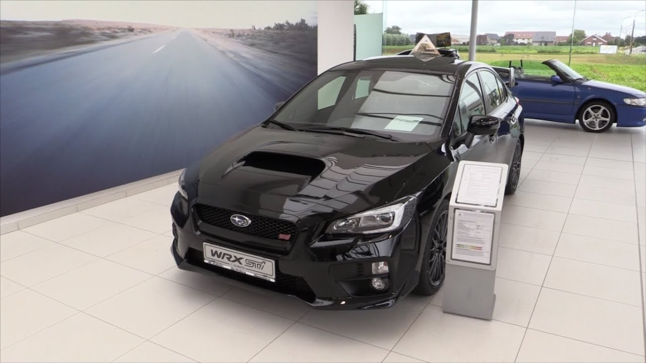 Subaru Wrx Sti 2016 Start Up In Depth Review Interior Exterior