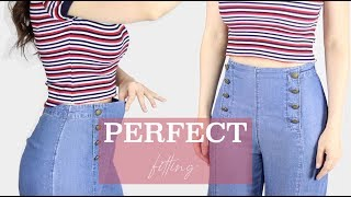 Ajusta La Cintura De Tus Pantalones Sin Que Se Note Fashion Riot Youtube