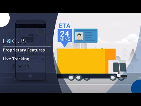 Locus Live Tracking of Orders | Locus Real-time Order Tracking Software