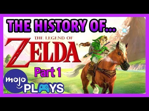 The Legend of Zelda: A Complete History  Part 1