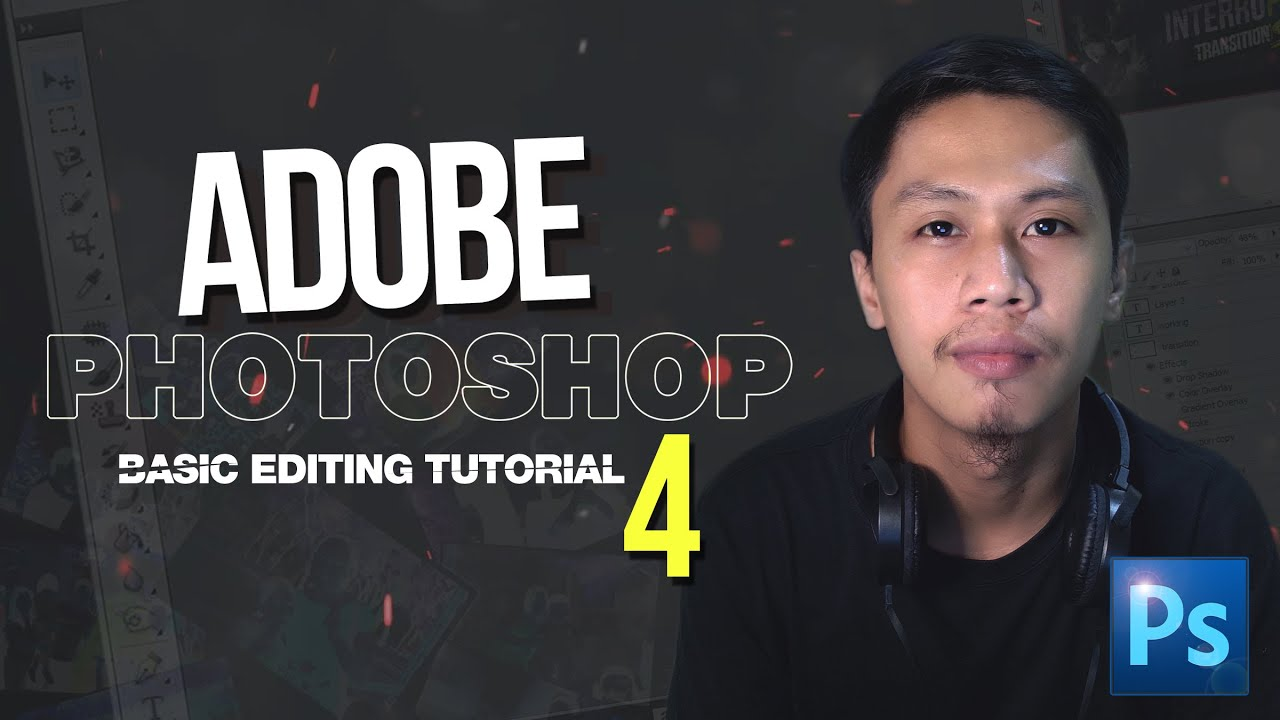 Adobe Photoshop Basic Editing Tutorial Part 4 ( RUSH ID Picture )