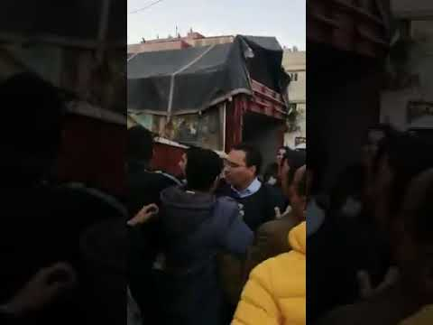 فضيحة حزب العدالة و التنمية 2020 الوزير مصطفى الخلفي يتعرض لضرب من ساكنة التقدم حي الرشاد الرباط