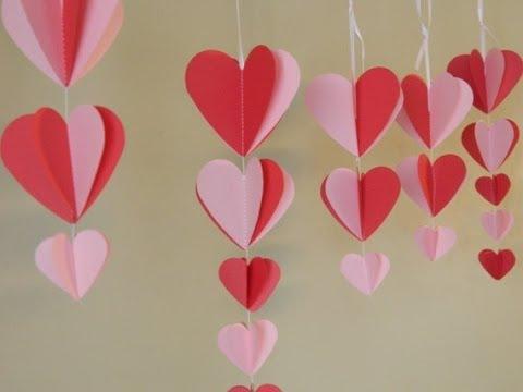 Decorazioni Fai Da Te Per Feste : Tutorial come fare decorazioni romantiche d effetto col