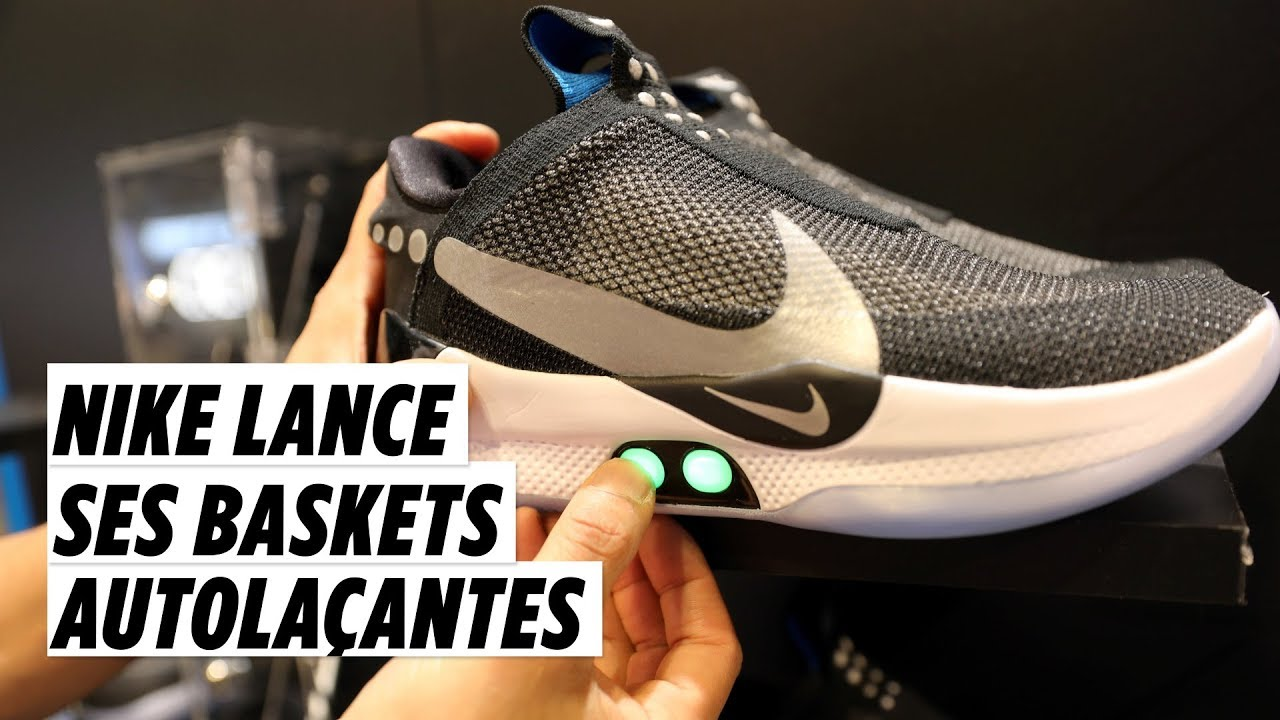 low cost large discount cost charm Adapt BB : Nike lance ses baskets autolaçantes