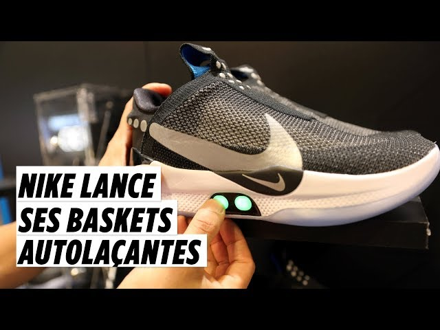 On a testé la basket Nike ultra connectée à 350 euros Le