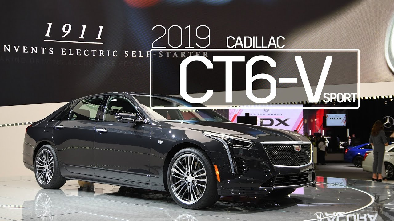 2019 Cadillac CT6 V Sport | First Look & Overview | 2018 ...