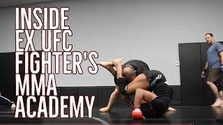 BJJ Report: Inside peek at Ex UFC Fighter`s MMA Academy