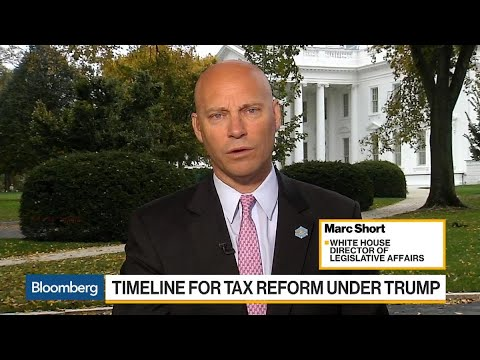 Tax Bill Process Is Weeks, Not Days, Says Marc Short
