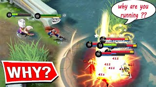 *TROLL* SMART COMBAT EVER !!! - Mobile Legends Funny Fails and WTF Moments!#16
