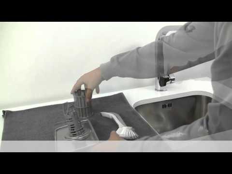 Hur rengör jag filtret i min diskmaskin?