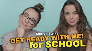 Get Ready with Me for School - Merrell Twins