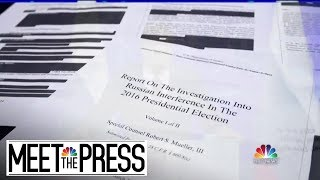 Mueller Report: 'Does Not Exonerate' President Trump | Meet The Press | NBC News