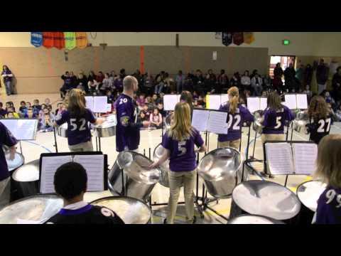 Gen  John Stricker Steel Band at Charlesmont Elementary School