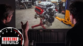Assembling a supercharged 840-hp Dodge Demon engine | Redline Rebuilds Explained - S3E1