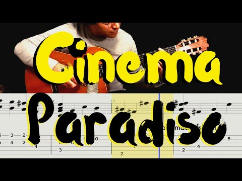 Cinema Paradiso Note And Tab For Guitar