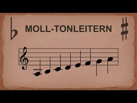 Moll-Tonleitern (alte Version - neue Version in der Beschreibung)