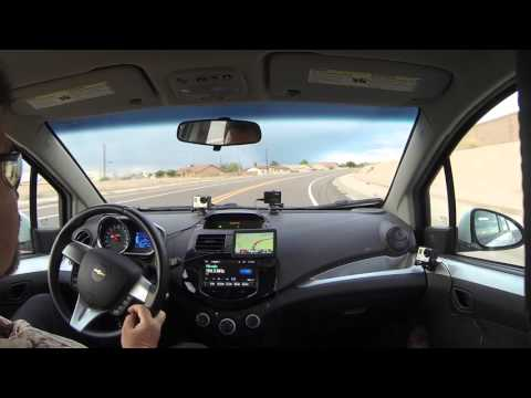 Into the Rain - AZ SR 85 North, Gila Bend, Arizona, 7 May 2016 past Auxiliary Air Field, GP021988