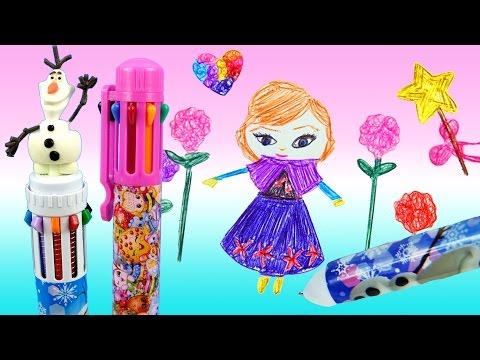 LEARN TO DRAW Disney Frozen Anna 10...