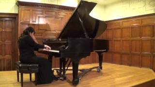 "Olga Sedycias: Beethoven Sonata No. 17 in D minor, Op. 31, No. 2, ""The Tempest,"" Movements 1-3"