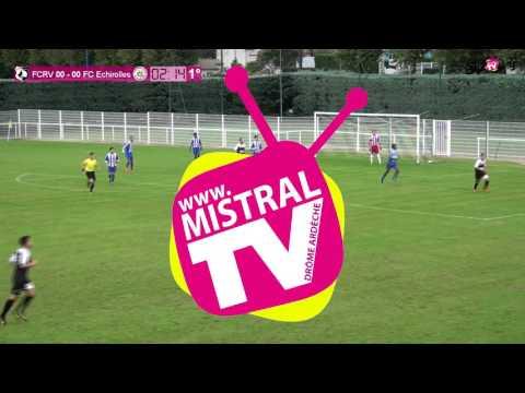 FOOTBALL - FC Rhône Vallées contre FC Echirolles