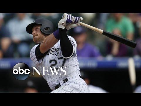 Trevor Story, Colorado Rockies Rookie, Hits Record Home Run
