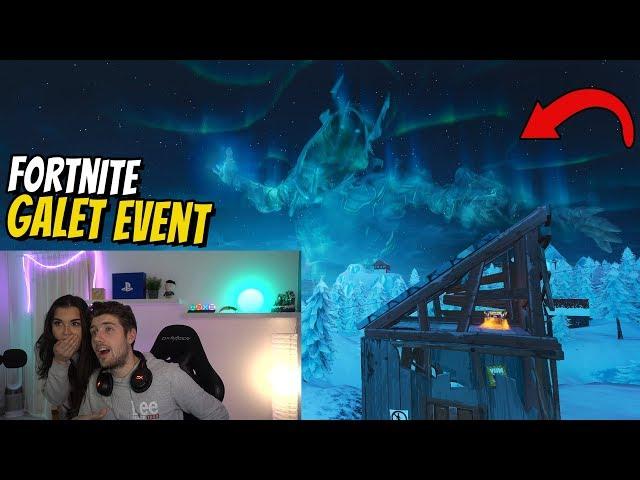JAG & MIN FLICKVÄN SÅG FORTNITE-EVENTET LIVE!! *FÖRSTA REAKTION*
