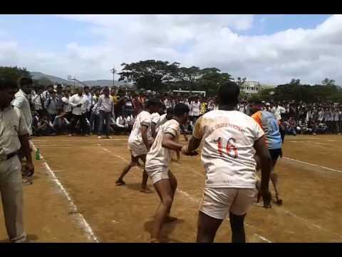 Kabaddi match...Yashvantrao Chavan Mahavidyalay Panchwad (Wai, Satara)