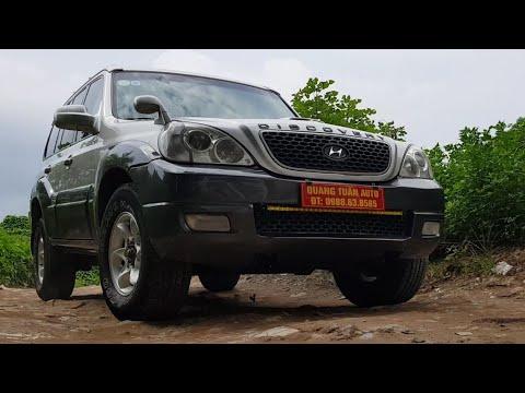 (Đã bán) Hyundai Terracan 2.5 M/T 2006 | Máy dầu, gầm cao | Ít gặp nhưng lại cực chất