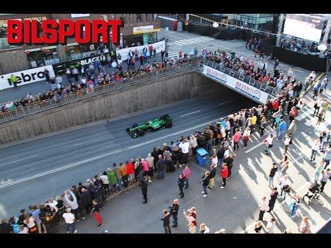 F1 i Örebro med Marcus Ericsson (Bilsport)