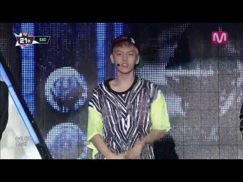 EXO_으르렁 (Growl By EXO@Mcountdown 2013.8.8)