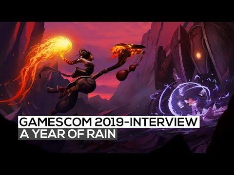 A Year of Rain - Das Interview   gamescom 2019