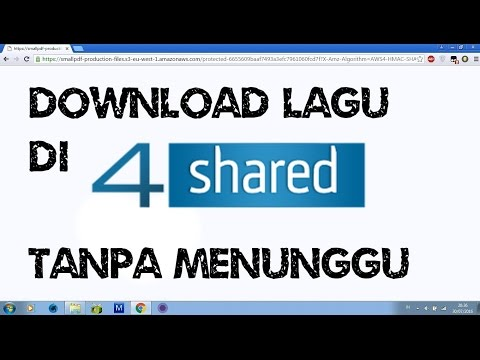 download lagu secara instan di 4shared