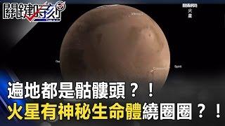 遍地都是骷髏頭?! 火星上有植物 神秘生命體繞圈圈?! 關鍵時刻 20170327-6 傅鶴齡 朱學恒