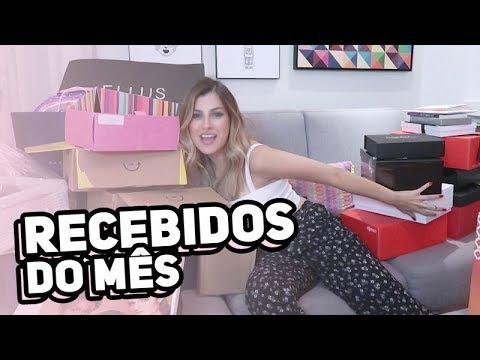 RECEBIDOS DO MÊS!!! | Nah Cardoso