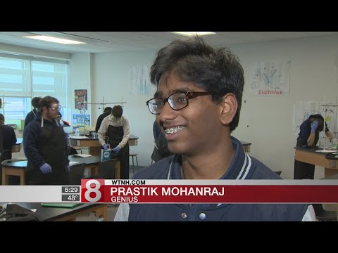 Ansonia Teen One Of Three In World To Earn Perfect Score On AP Chemistry Exam