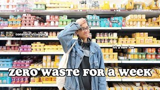i tried to go zero waste for a week..and this is what happened.. | clickfortaz