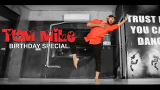 Tum Mile | Birthday special Dance performance | Contemporary Choreography | Unplugged Dance Cover