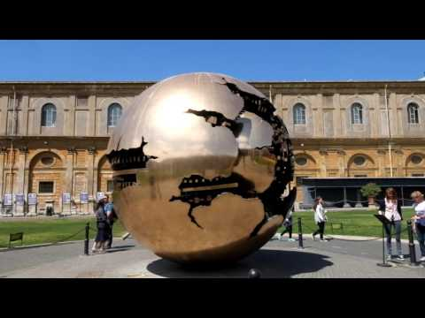 Rotating Globe at the Vatican Mueums